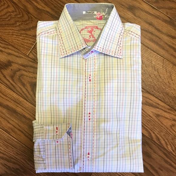 50fa6a5e Bugatchi Shirts | Lsleeve Button Down Shirt Unique L | Poshmark